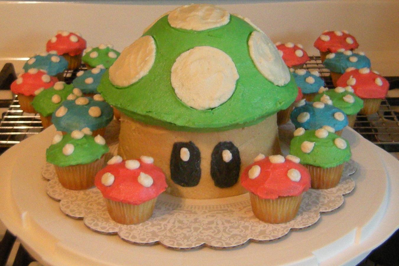 July 2010 & Super Mario Mushrooms | Decorate This