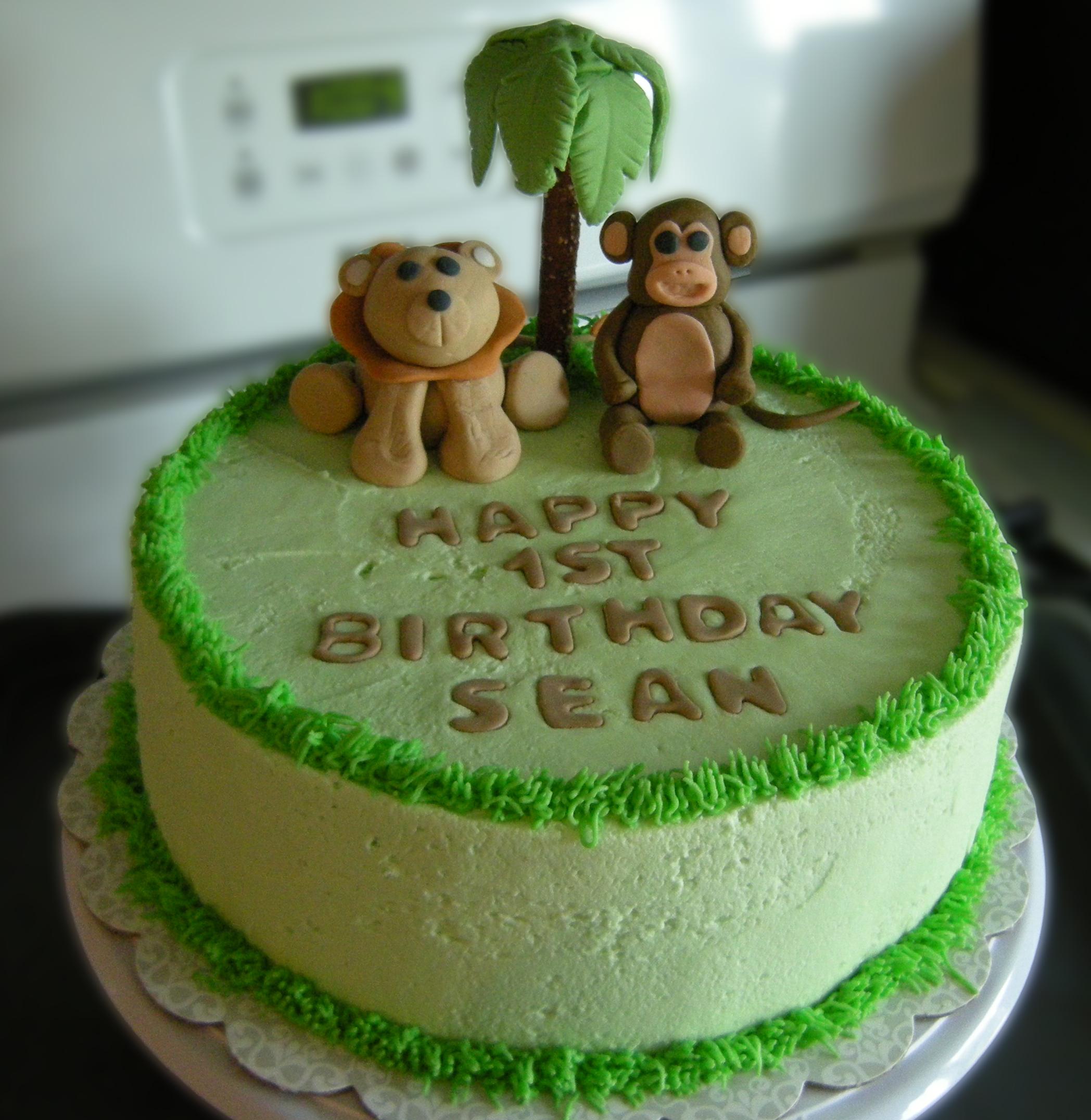 Sean S Jungle Cake Decorate This