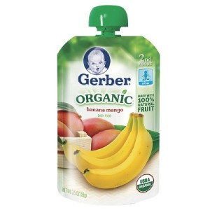 Gerber Baby Food Pouch
