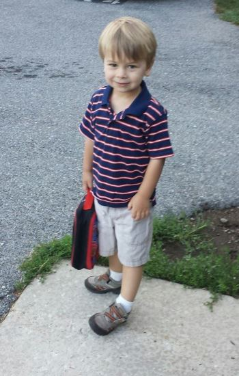 First Day in the 3's Class