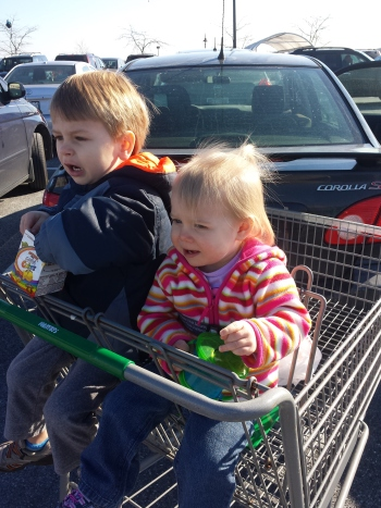 These two ganged up on me at the grocery store!